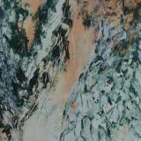 Organisch II, acryl op papier 65x60 cm. Y. Kieft 12-2006 (1)