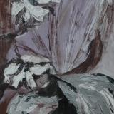 Organisch II, acryl op papier 65x60 cm. Y. Kieft 12-2006 (3)