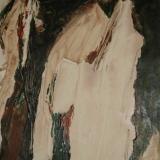Organisch II, acryl op papier 65x60 cm. Y. Kieft 12-2006 (4)