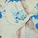 In de kas I, acryl op 3d-doek 20x20cm 2007 Yvonne Kieft