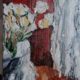 Stilleven, acryl op paneel _Yvonne Kieft 2009