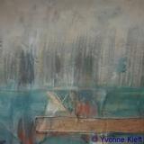 Nes ad Amstel II 55 x 55, acryl op zeildoek 2010 Y. Kief