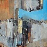 Verval I, acryl 30x30x3,5 cm. ●Yvonne Kieft 2007-2008