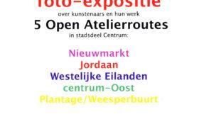 Open ateliers 2012 & 2013 foto-expositie in Stopera